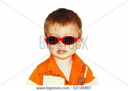Boy In Sunglasses.