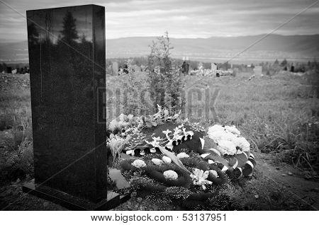 Cemetery Tomb