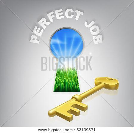 Key To Perfect Job