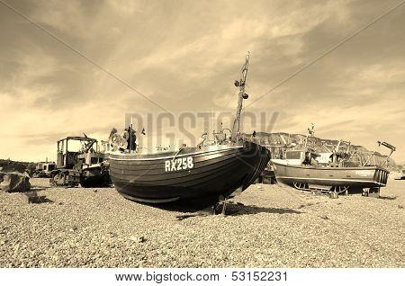 Classic Fishing Boat