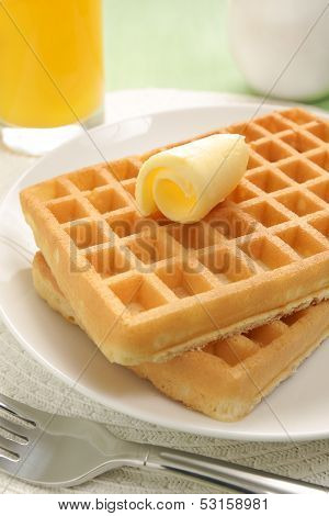Waffles And Juice