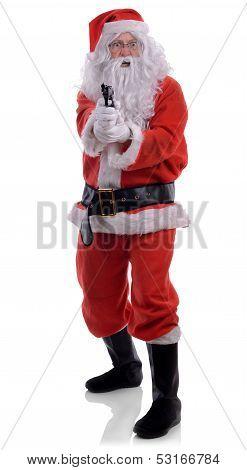 Santa With Gun