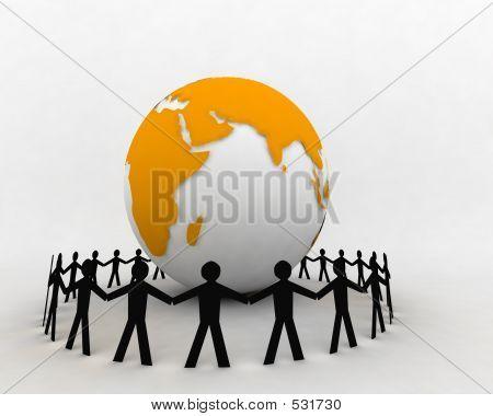 Personas de todo el Globe2