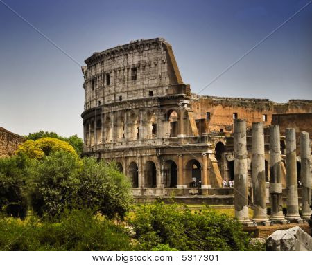 Colosium Of Rome