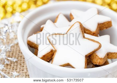 Xmas Cinnamon Cookies