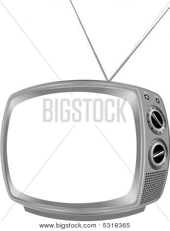 Blank Retro Tv.eps