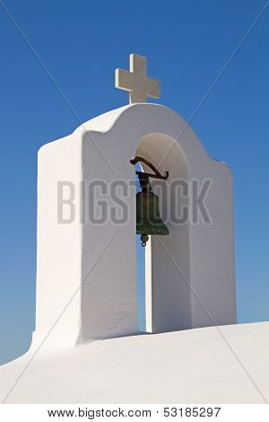 Greek Church Bell Tower