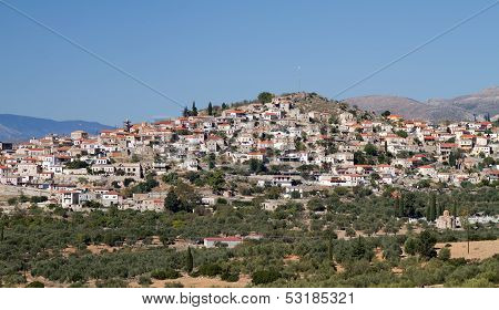 Village In Lakonia, Greece