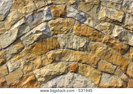 Sinuous Wall Background