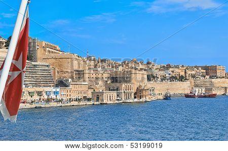 View To Malta