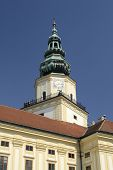 Clock Tower in Kromeriz