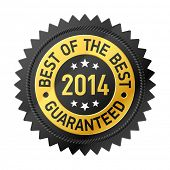 foto of medal  - Best of the Best 2014 label - JPG