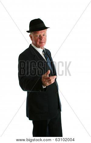 Senior Bussinesman