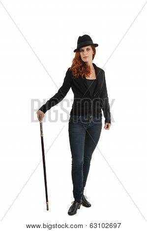 Portrait Of Female Magician