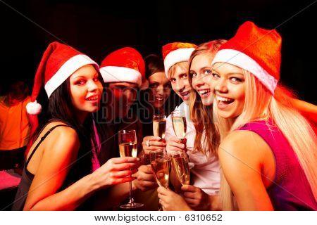We vieren kerst