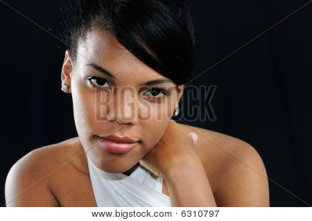 African Woman Portrait
