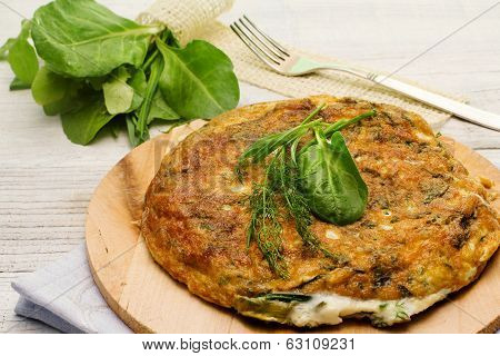 Herbs Mix Omelette