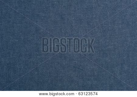 Denim cloth texture close-up