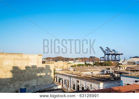 Santa Marta Cityscape