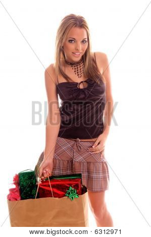 Sexy Christmas Shopper