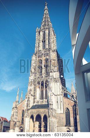 Ulm Munster landmark, Germany