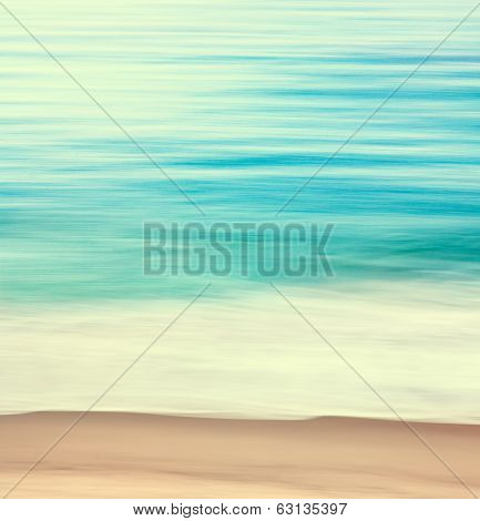 Coastal Edge Abstract