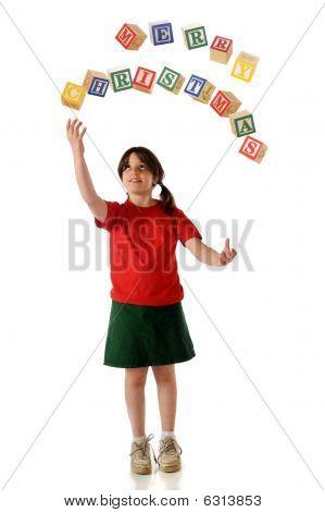 Christmas Greeting jonglieren