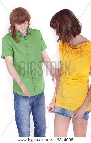 Couple Disputing