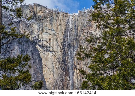 Frozen Waterfall In Yosemite II