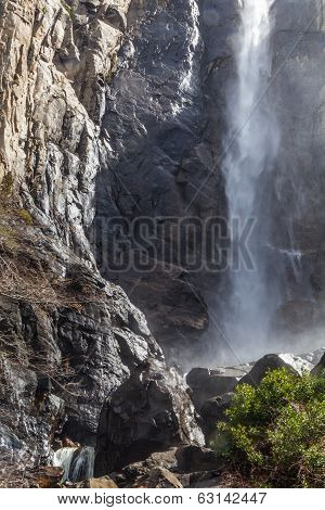 Bridalveil Waterfall mist