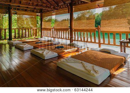 Massage Room In Thailand