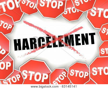 Stop Harassment In French
