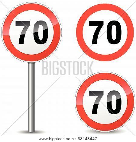 Vector Seventy Sign