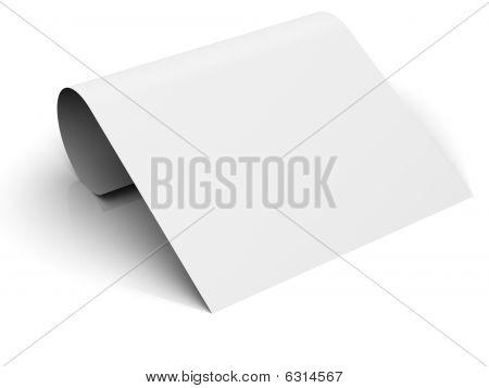 Bent paper
