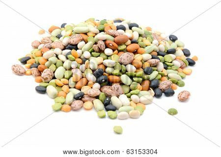 Mixed Dried Beans And Peas