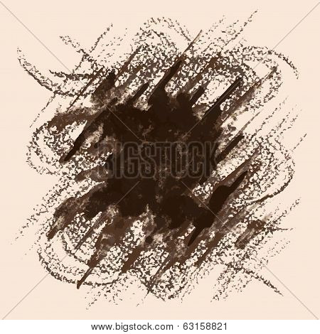 Sepia brown abstract background
