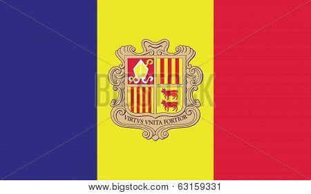 Flag Of Andora