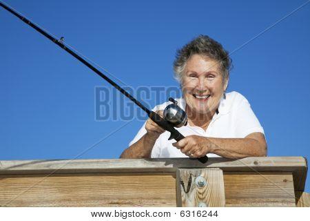 Senior pescadora