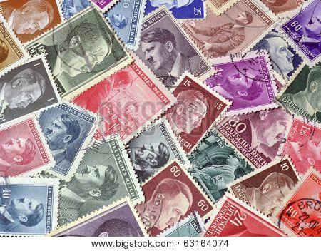 Hitler stamps
