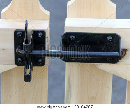 Fence Gate Latch