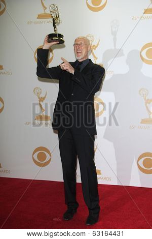 LOS ANGELES - SEP 22: James Cromwell in the press room during the 65th Annual Primetime Emmy Awards held at Nokia Theater L.A. Live on September 22, 2013 in Los Angeles, California
