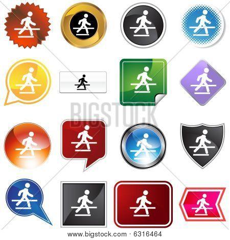 Crosswalk variety set