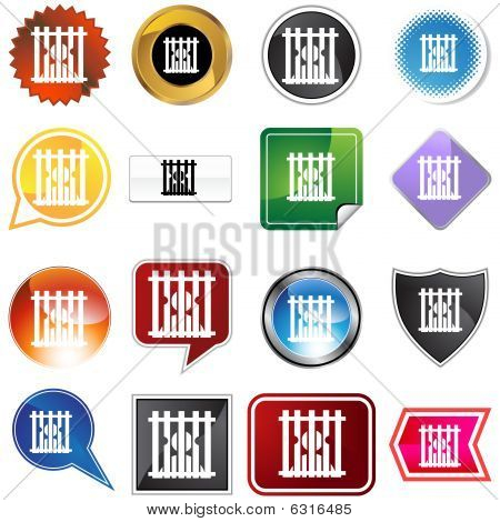 Jail Icon Set