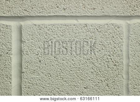 White Washed Breeze Block