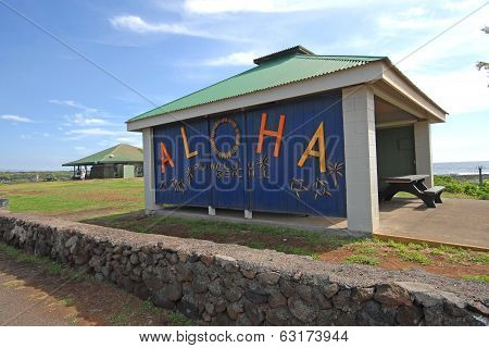 Aloha Sign, Hawaii