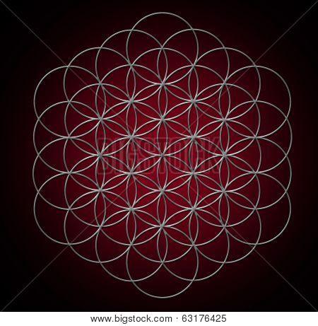 Sacred Geometry FLOWER OF LIFE