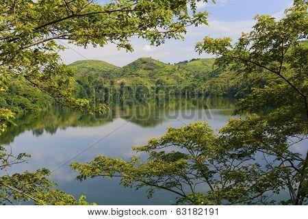 Volcanic Lake Africa
