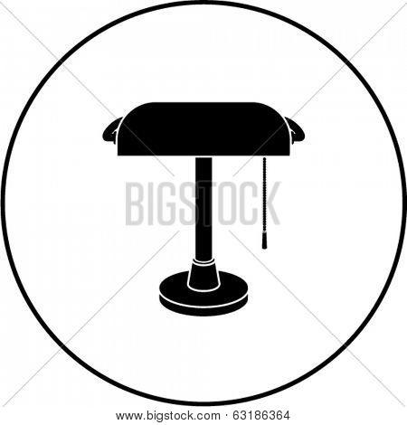 banker's lamp symbol