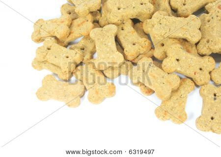 Cute Dog Biscuits Shaped Into A Bone