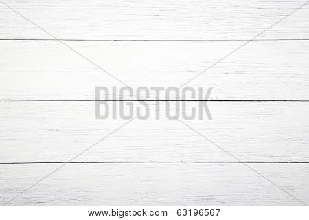 The white plank, a wooden background
